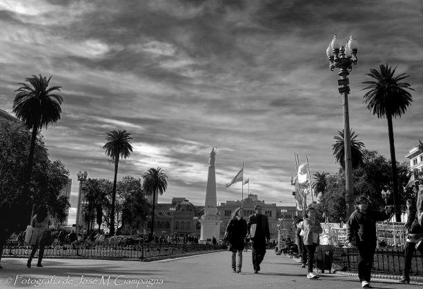 Plaza de Mayo de día