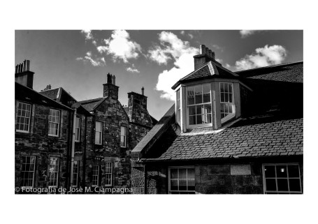 Desde el Hotel, Edimburgo, Escocia