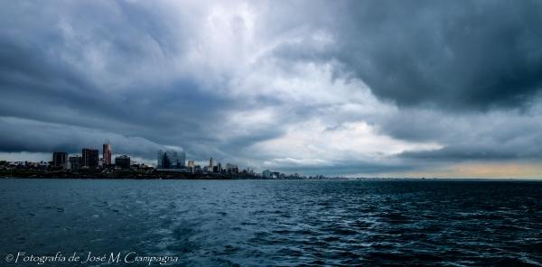 Mar del Plata desde el mar