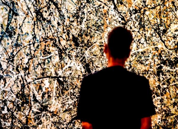 Mirando a Pollack, MoMA, NYC