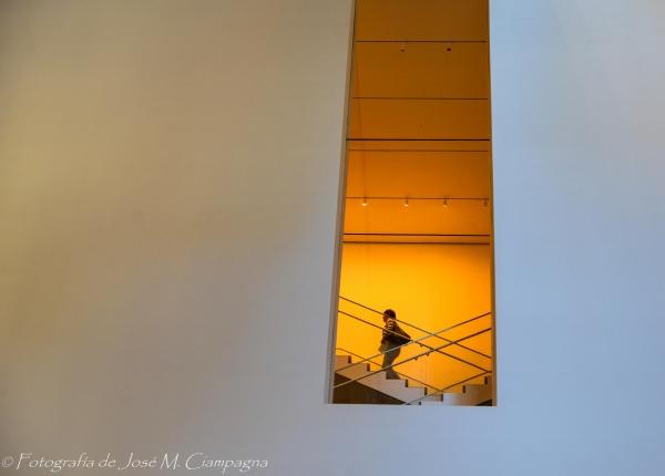 Interior del MoMA, NYC, USA.