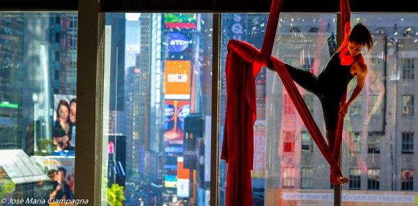 Show en el Novotel, Broadway, NYC
