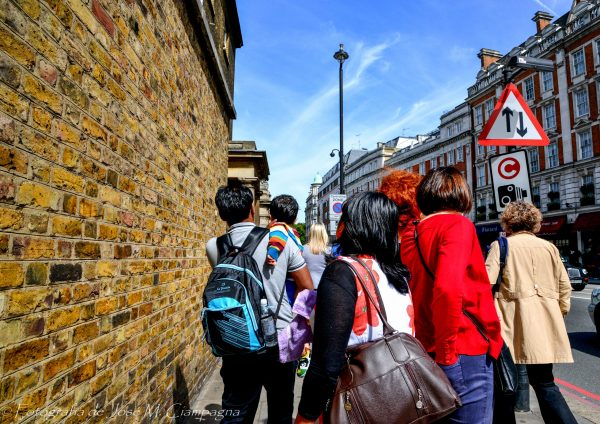 Caminando en Londres, Inglaterra
