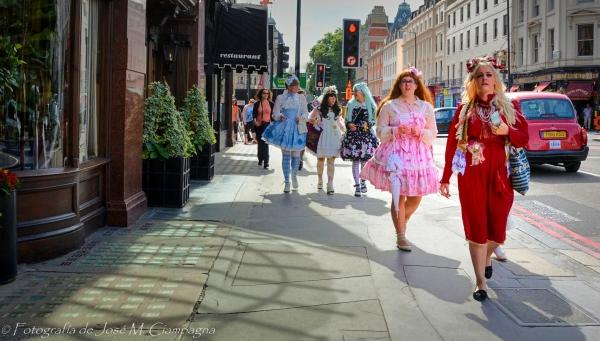 Y sí, en Londres, Inglaterra