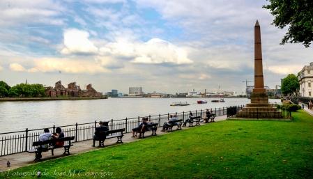 A las orillas del Támesis, Greenwich, England