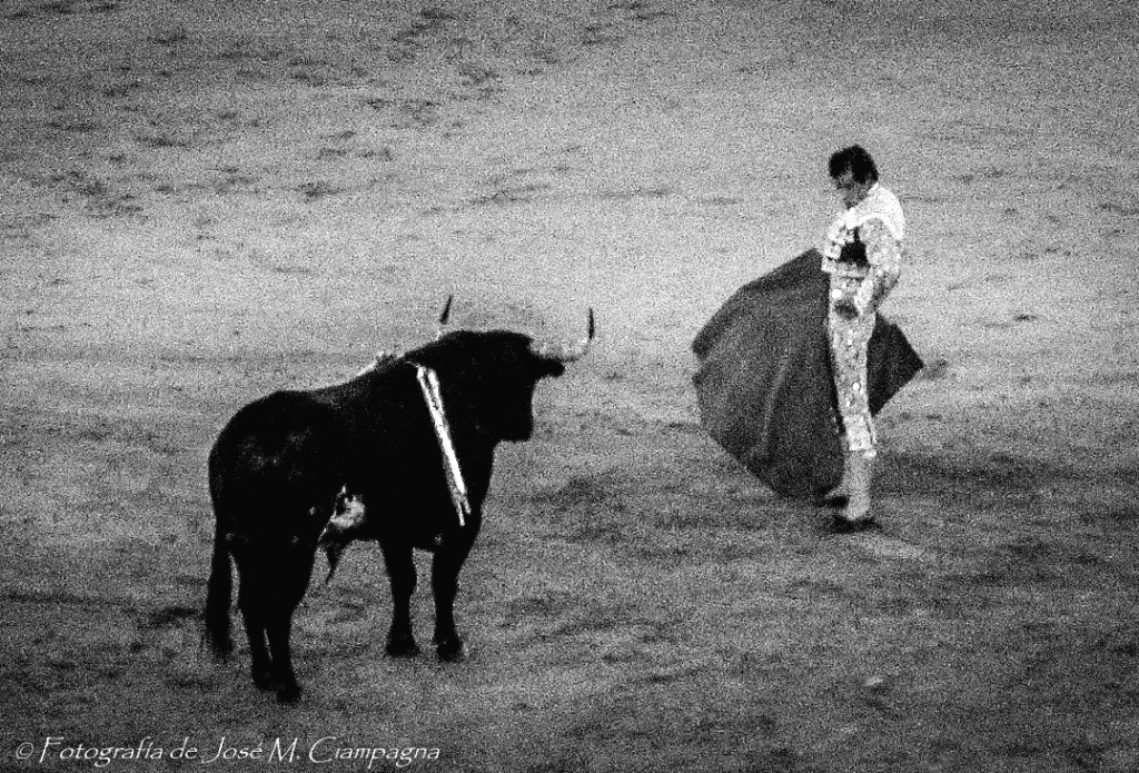 Tarde de toros, Las Ventas, Madrid