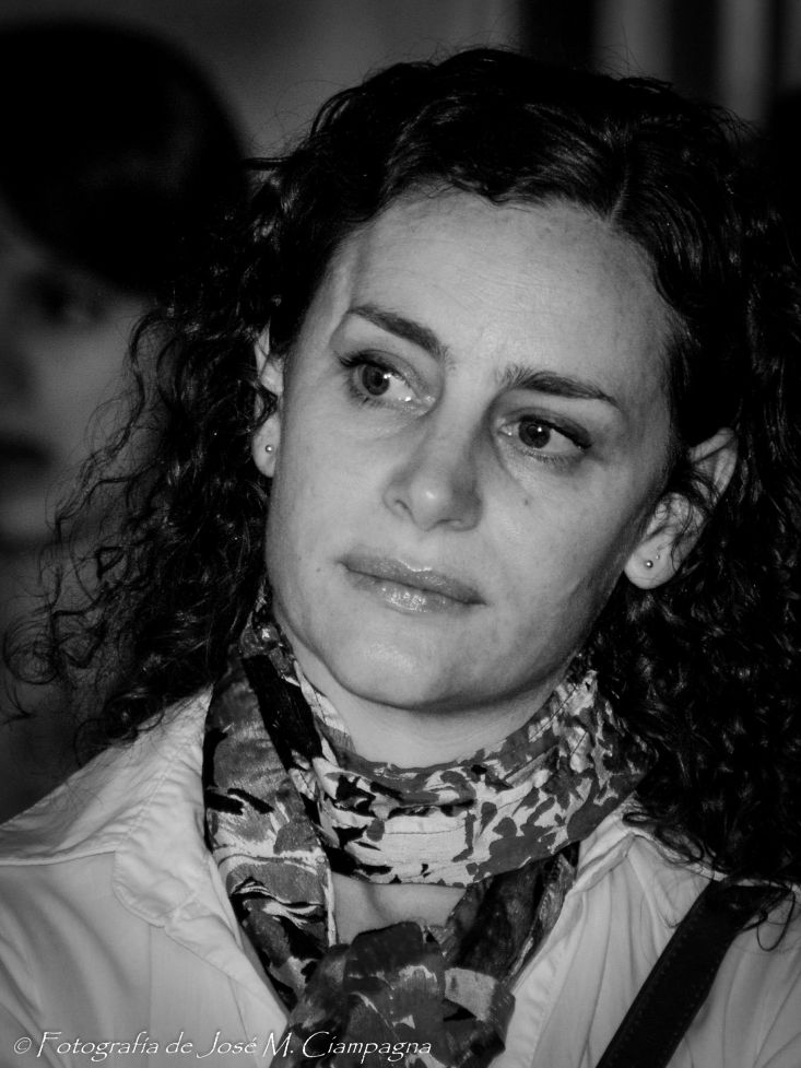 Maura Sajeva, actriz, Córdoba
