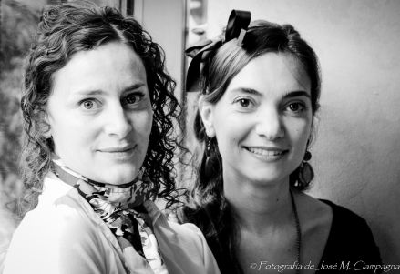 Maura y Analía, actrices, Córdoba