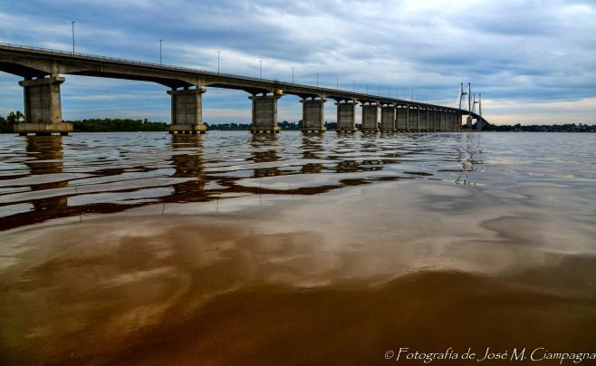 Puente Rosario Victoria, Rosario, Santa Fé, Argentina