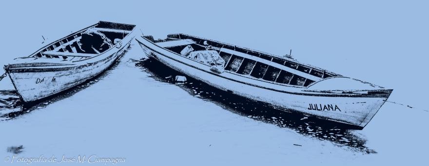 Botes en el río