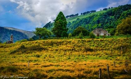 Glendalough paisaje uno