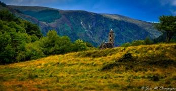 Glendalough paisaje tres