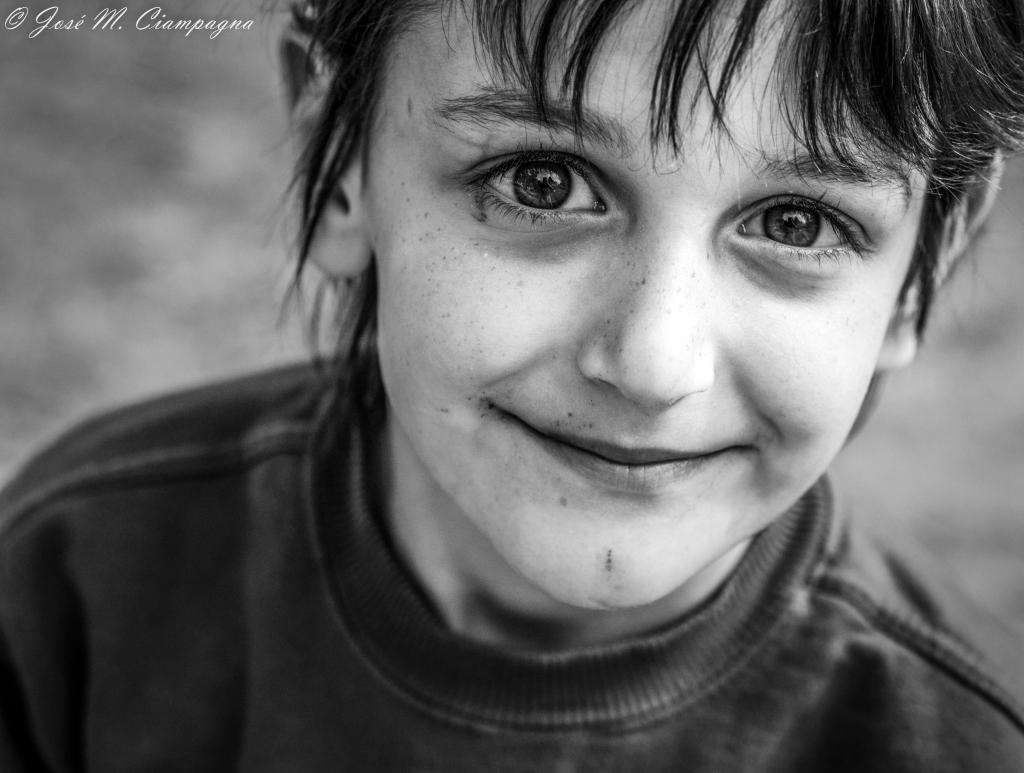 La sonrisa de ojitos