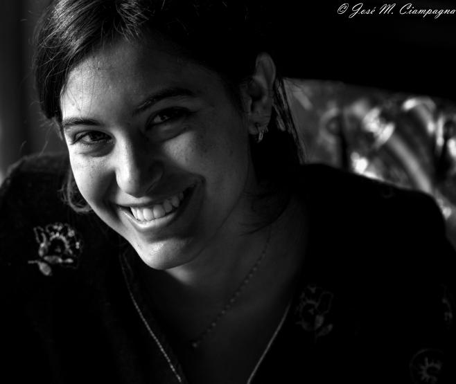 La sonrisa de la morocha