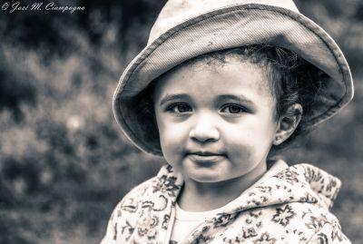 Sombrerito en b/n