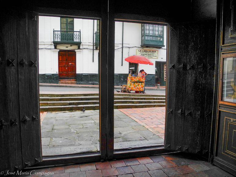 Portón de la Iglesia de la Candelaria