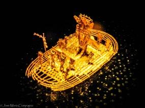 Barca que da lugar a la leyenda del dorado