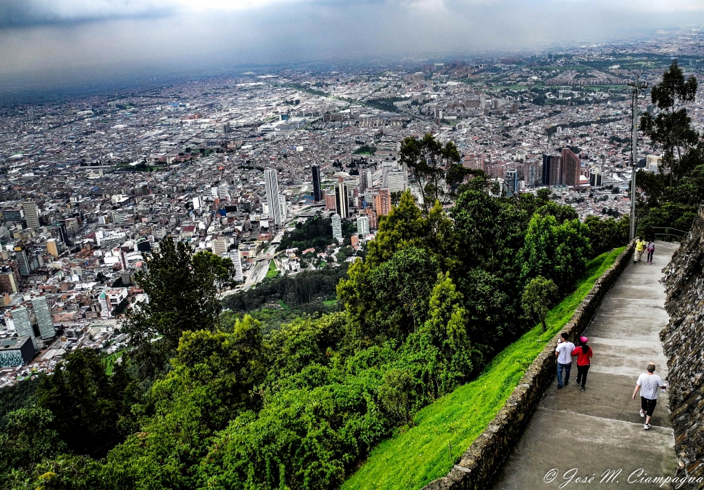 Vista desde Monserrate
