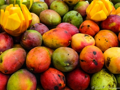 El color de la fruta