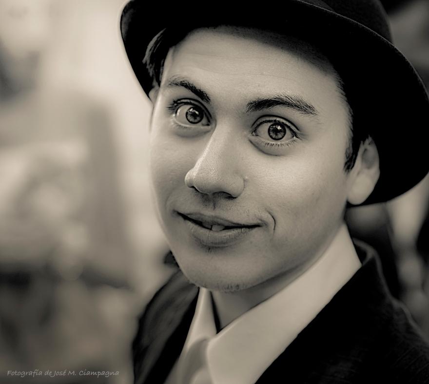 Retrato joven actor cordobés