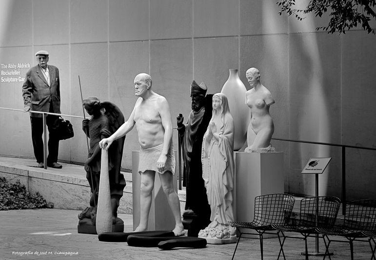 Jardín de las esculturas, Museo MOMA, New York