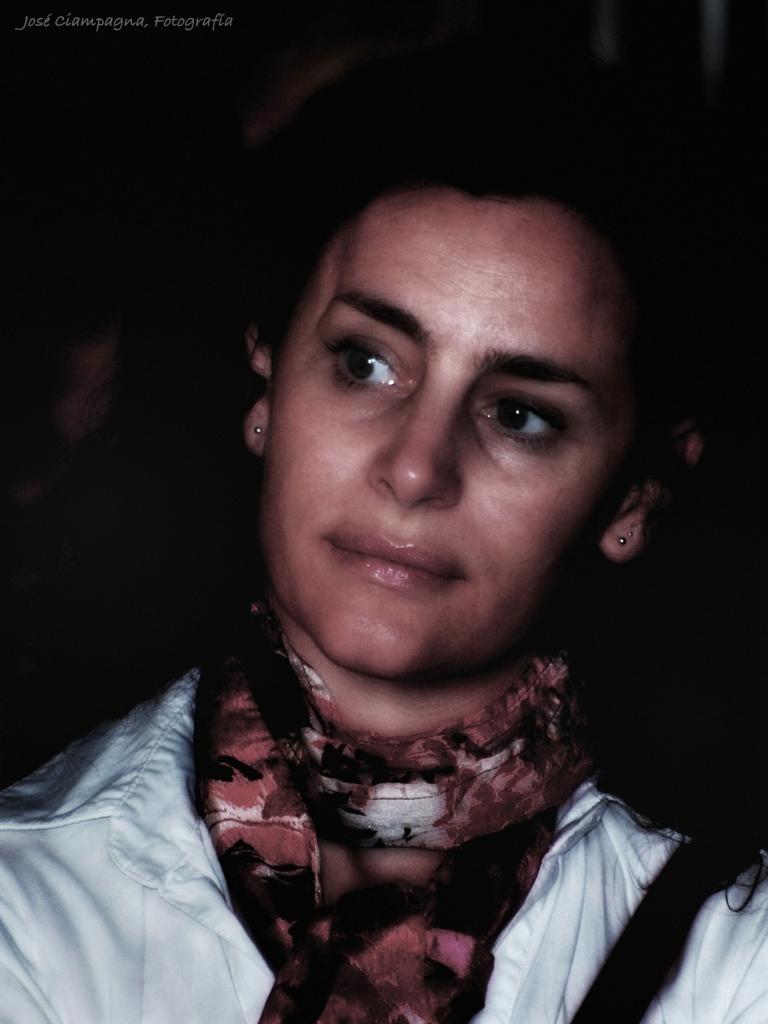 Maura Sajeva, actriz, presentación película Hipólito
