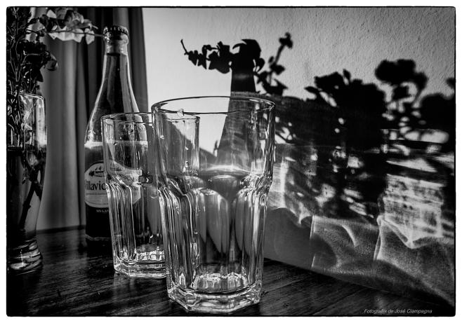 Luces de vidrio