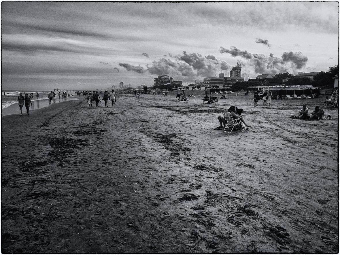 Las playas de Gesell, provincia de Buenos Aires, Argentina