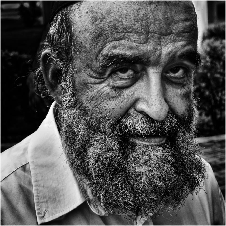 """""""José de Panamá""""; retrato callejero."""