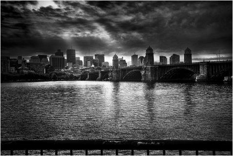 Longfellow Bridge, Boston. USA