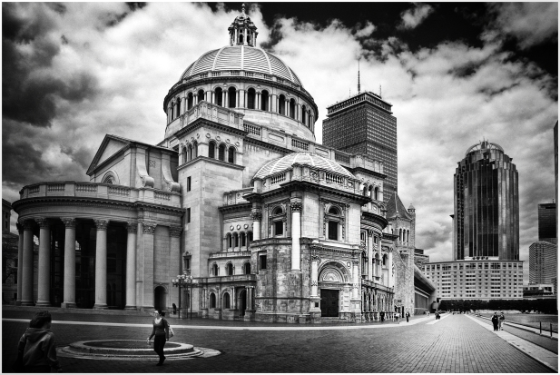 Boston City Scape. USA