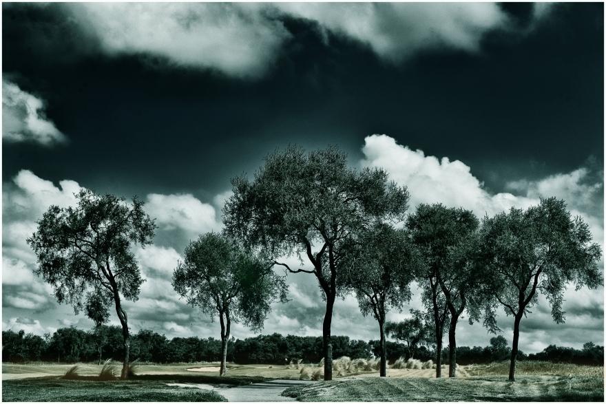 Nubes sobre el Valle del Golf