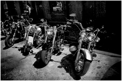 Harleys en Boston