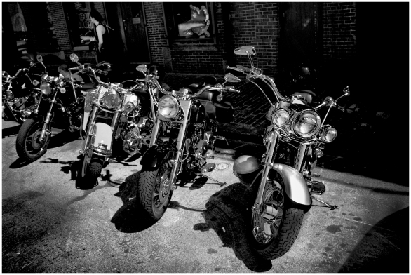 Harleys en Boston
