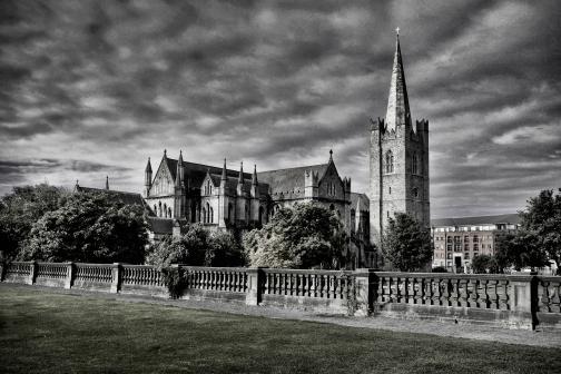Catedral de San Patrick, Dublín, Irlanda.