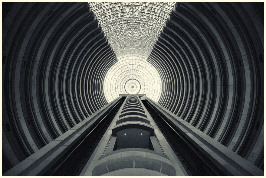 Interior Torre Hyatt, Santiago de Chile, Chile. oct 2008