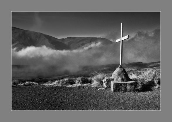 La cruz de las nubes. Salta, Argentina