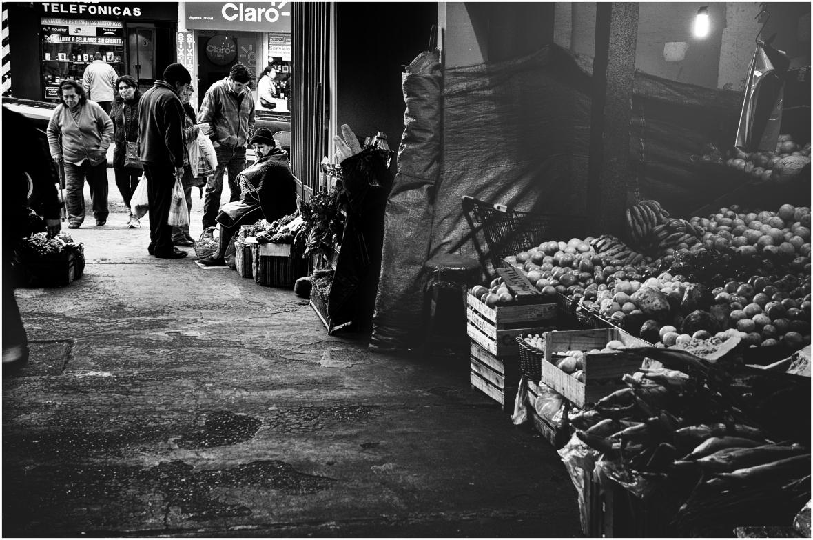 Entrada al mercado