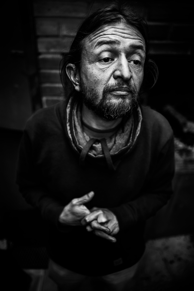 "Retrato; personaje ""imposible"", actor de Córdoba."