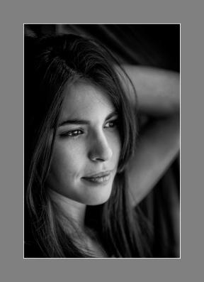 Nuevos procesos de fotos de archivo. Modelo: Milagros Vitta