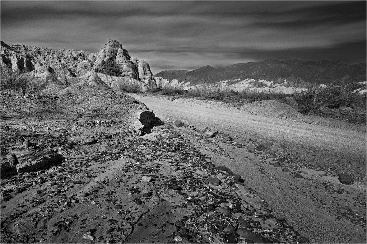 Ruta 40 - a la altura de la Provincia de Salta - entre Cafayate y Cachi
