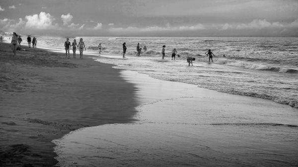 Playas de Ostende, Buenos Aires, Argentina. Enero 2018