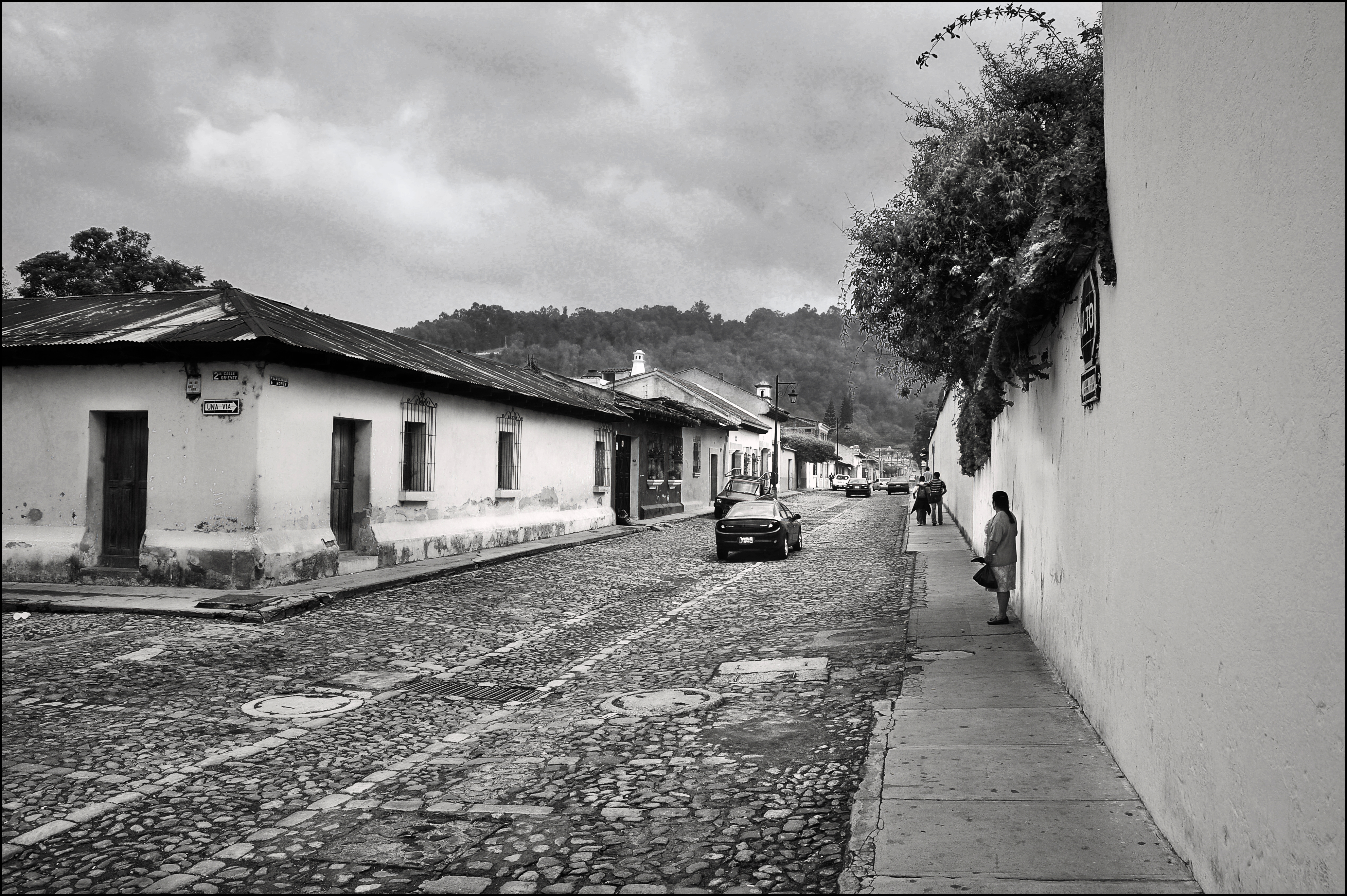 Calles de Antigua bicolor