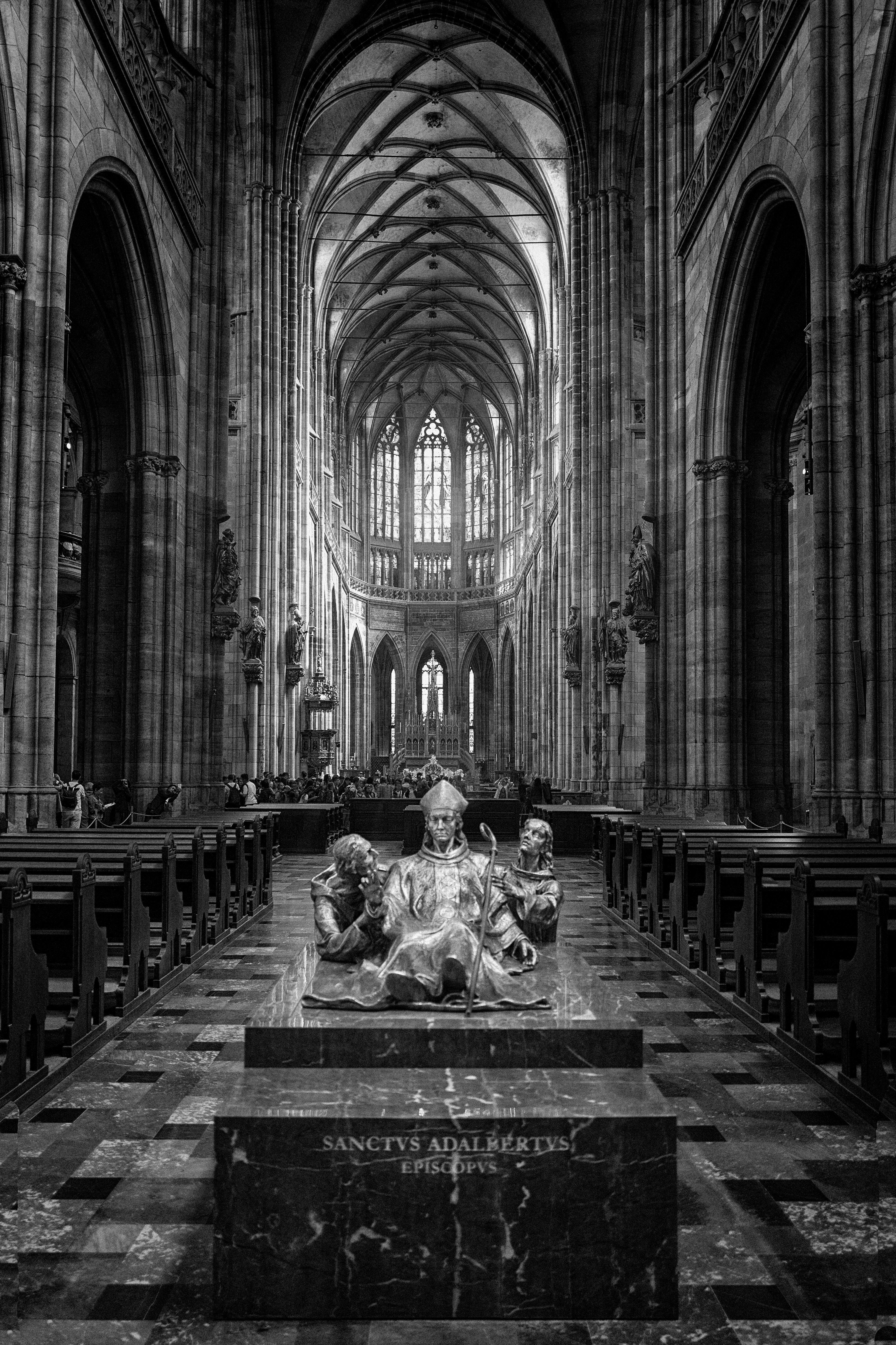 """Adalbertus"", Catedral de San Vito, Praga, República Checa. Abril 2018."