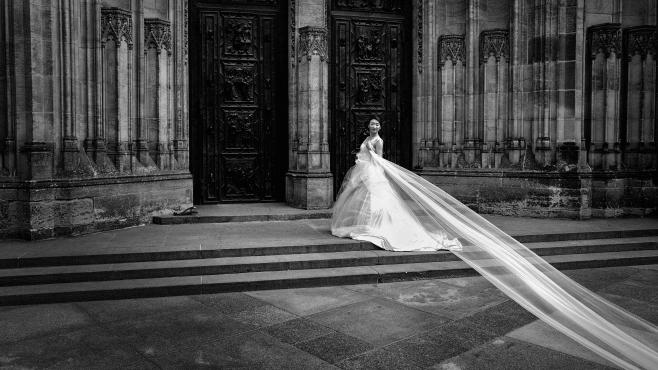 La novia china en San Vito