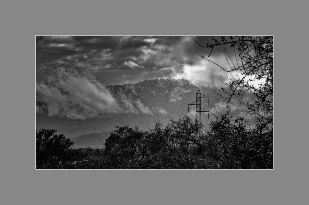 La torre de AT en el valle de Traslasierra
