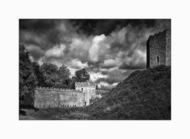 Vista interior castillo de Cardiff