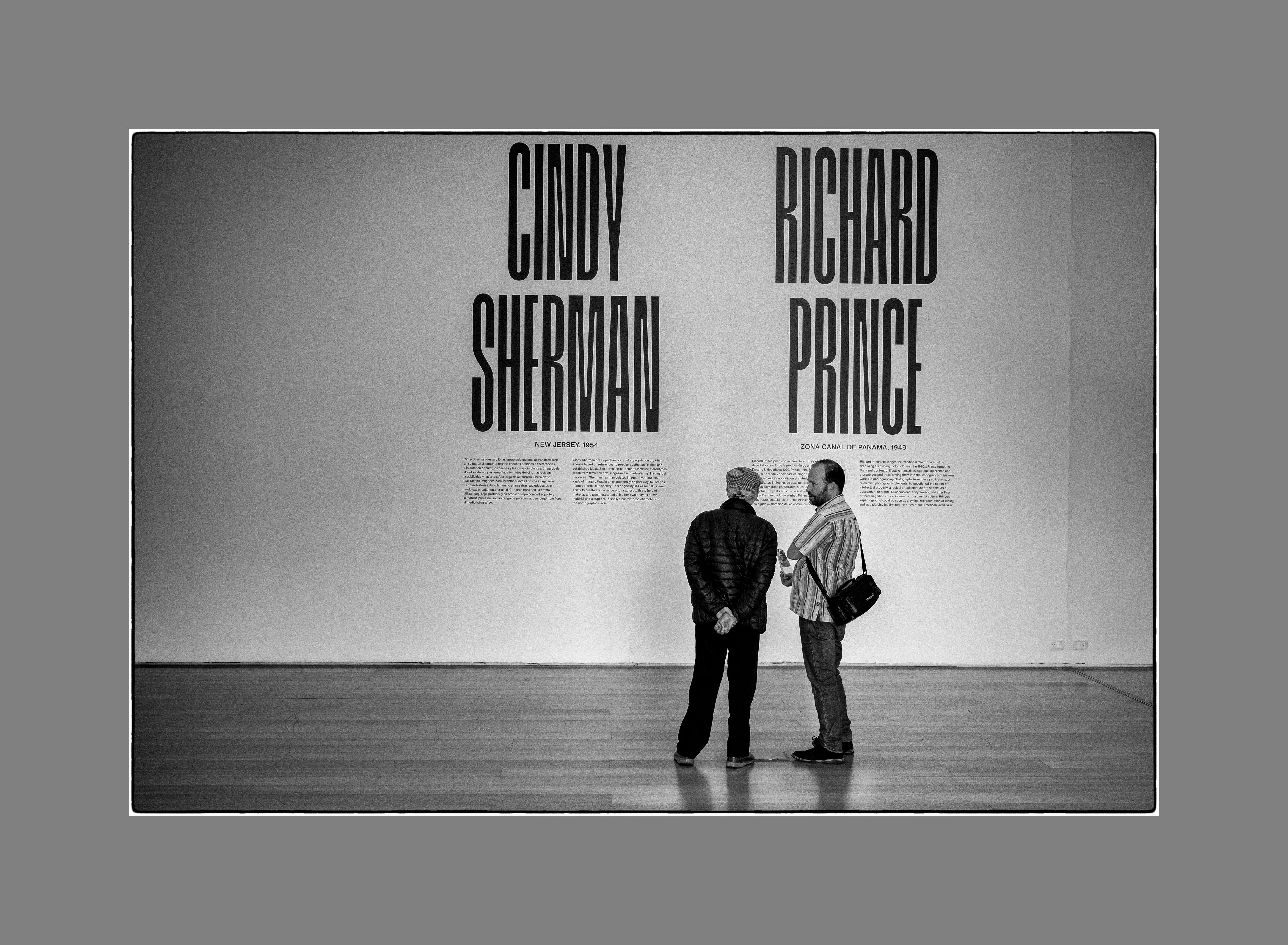 Galería CINDY SHERMAN – RICHARD PRINCE, Museo MALBA